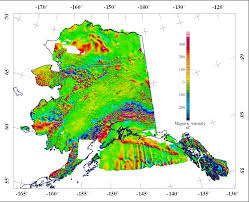 Maps Of Alaska by Alaska Geophysical Survey Interpretation Project Usgs Crustal