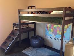 Bunk Bed Plans With Stairs How To Build A Loft Bed With Stairs Diy Projects For Everyone