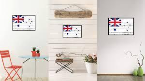 australian white ensign city australia country vintage flag home