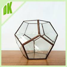Round Glass Vase Block Crystal Round Glass Vase Round Fish Bowl Design Thick Lead