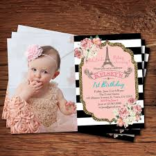elegant first birthday invitations first birthday invitations
