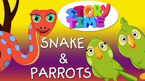 bedtime stories for kids in english snake u0026 parrots surprise