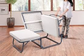 Grey Ottoman Bed Ovela Folding Ottoman Bed Grey Cover Kogan Com