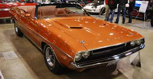 dodge challenger 1970 orange ride of the week 1970 dodge challenger r t convertible