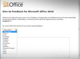 how to send microsoft office u0026 powerpoint feedback to microsoft