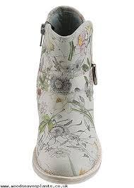 s grey boots uk s oliver label ankle boots grey floral kb1pxv14 enjoy