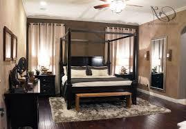 Rugs For Laminate Wood Floors Masculine Bedroom Pinterest Black Brick Wall Interior Decorating