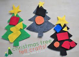 felt christmas tree for kids christmas lights decoration