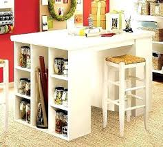 counter height craft table counter height craft desk 16 crafting table with storage to