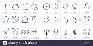 Colors Of The Zodiac by Astrology Symbols Signs Of The Zodiac Planetary Gods And Lunar