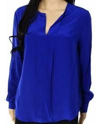 royal blue blouse top find the best deals on klein royal blue s 10