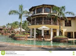luxury hotel in goa india stock photo image 71505991