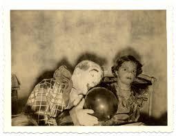 happy birthday creepy clown scary vintage photos of creepy clowns flashbak