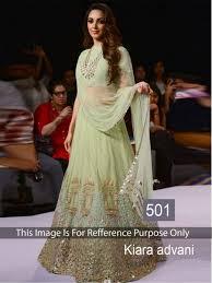 light green color online shopping kiara advani light green color lehenga choli 507462