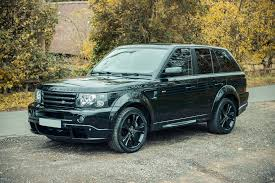 black chrome range rover 2007 land rover range rover sport ex david beckham classic car