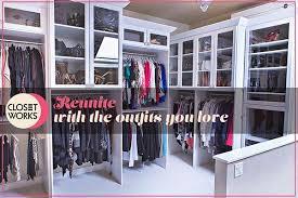 Wardrobe Organization Closet Organization Tips U0026 Tricks From Closet Works Blog Page 2