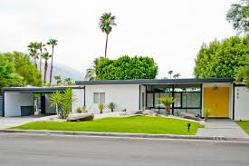 Mid Century Modern Landscaping by Mid Century Modern Landscaping Exterior Midcentury With Bright