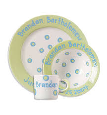 personalized ceramic plate what a dish personalized pottery items like the bowls cups and