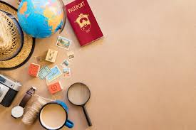 travel items images Travel items on table photo free download jpg