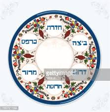passover plate passover seder plate vector getty images