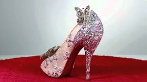christian louboutin cinderella shoe youtube