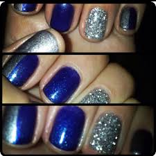shellac navy blue with feature nail hair u0026 beauty pinterest