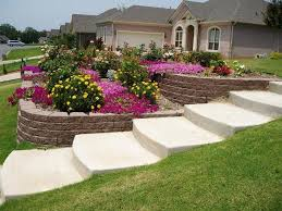 Landscaping Ideas For Sloped Backyard Backyard Landscaping Ideas Sloped Yard Backyard And Yard Design