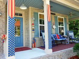 patriotic porch decorating with burlap youtube