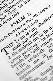 how to teach psalm 23 to preschoolers synonym