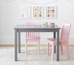 White Kids Desk And Chair Set by Carolina Small Table U0026 2 Chairs Set Pottery Barn Kids