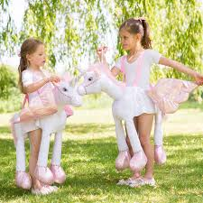 children u0027s ride on unicorn dress up costume my granddaughters