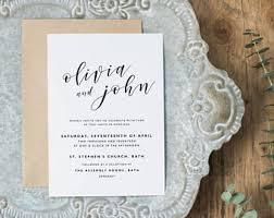 Wedding Invitations Utah Wedding Invitations Etsy