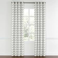 Gray And White Chevron Curtains by Yellow Chevron Drapes U2014 Prefab Homes Hippie Chic Decorating With