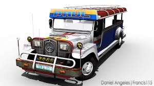 jeep transparent background 3d cg jeepney by francis115 on deviantart