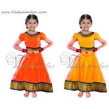 buy online girls dance south india pavada pavadai chatta chattai