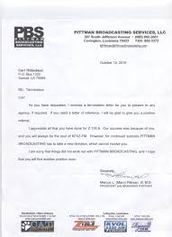 Contract Termination Notice 3b Original Termination Letter From Carl T Carltfacts