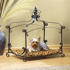Rod Iron Canopy Bed by Amazon Com Royal Splendor Pet Metal Canopy Bed Small Dog Cat