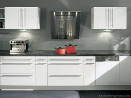 modern kitchen white cabinets home decorating interior design