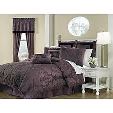 Brown Queen Size Comforter Sets Bedding Mesmerizing Queen Bed Comforters Lorenzo Purple 8 Piece
