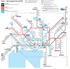 Chicago Public Transit Map by Oslo Tram Transit Maps Pinterest Oslo