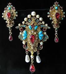 Ebay Jewelry Armoire 288 Best Ooh La La Vintage Jewelry Images On Pinterest Antique