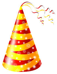 birthday hats birthday hat yellow and party hat clipart image wikiclipart