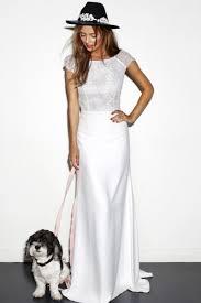 wedding shop uk satin sleeve sweep brush sheath column lace scoop boho