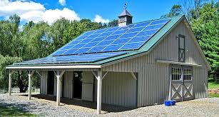Pole Barn Pa Modular Barns Prefab Horse Barns Horizon Structures