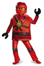 Halloween Costumes Ninjago Amazon Kai Deluxe Ninjago Lego Costume Medium 7 8 Toys U0026 Games