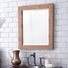 wood framed americana wood framed wall mirror mr2xx trails