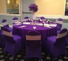 purple chair covers chair decor