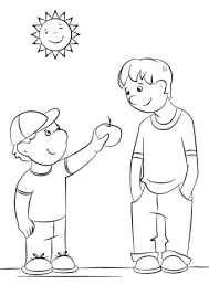 coloring pages on kindness showing kindness coloring page free printable coloring pages