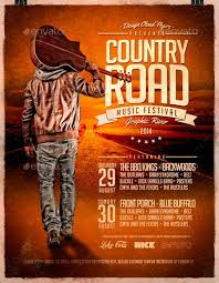 country brochure template best 20 country and western style flyer templates