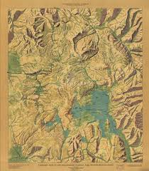 Map Of Yellowstone National Park Yellowstone National Park Panoramic Map Yellowstone Up Close And